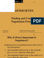 Power - negotiations