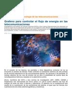 Grafeno para controlar el flujo de energía en las telecomunicaciones.pdf