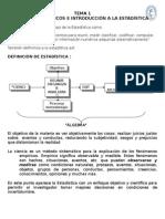 TEMA 1 - Introduction a la estadistica