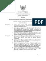 Peraturan Walikota Tegal Nomor 27 Tahun 2010 Tentang Tata Naskas Dinas di Lingkungan Pemerintah Kota Tegal.pdf