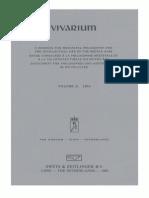 Vivarium - Vol. 8, Nos. 1-2, 1970