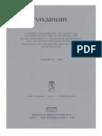 Vivarium - Vol. 5, Nos. 1-2, 1967
