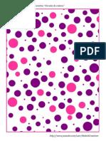 Papel Decorativo Circulos de Colores