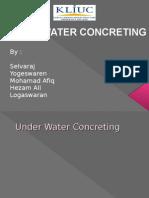 Under Water Concreting (BEC201)