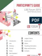 LSE Forum 2015 Participation Guide
