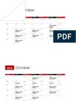 pithons calendar