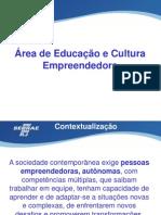 Área de Educação e Cultura Empreendedora