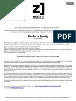 Panforte Family Font