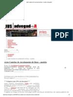 Ação Cautelar de Arrolamento de Bens – Modelo _ AdvogadoR