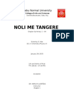 Noli Me Tangere Summary By Chapter