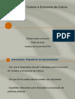 Economia Do Turismo e Economia Da Cultura2009Final