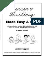 cursive writing made fun