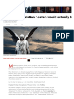 10 Reasons Christian Heaven Would Actually Be Hell
