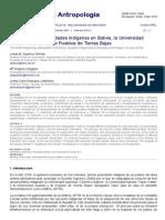 Las Primeras Universidades Indígenas en Bolivia