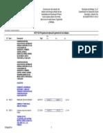 ECO-12A Programa de Ejecución General de Los Trabajos