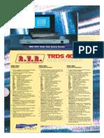 TRDS4001 Brochure