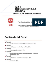 Tema 1 Introduccion Domotica Edificio Inteligente Vocw