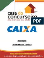 Apostila CEF Redação Maria Tereza