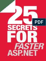 25 Secrets for Faster ASP.net