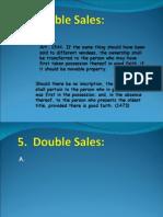 Double Sales