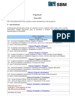 Ma13 2015 2 Programação