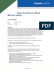 QA-Lean Six Sigma Practitioners Black Belt (Inc Exam)
