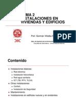 Tema 2 Instalaciones en Viviendas y Edificios Vocw
