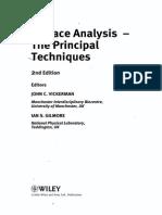 Vickerman - Surface Analysis the Principal Techniques