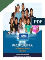 Presentacion Marco Conceptual 2012-2016