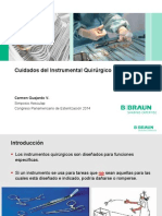 Simposio Aesculap Gestion Integral de Instrumental Quirurgico Santa Cruz 2014