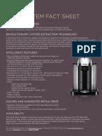 Nespresso - VertuoLine Factsheet