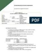 Ejemplo de Reconocimiento de Los Efectos de La Inflación en La Información Financiera