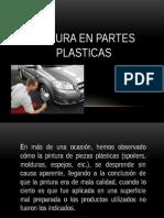 Pintura en Partes Plasticas de vehiculos