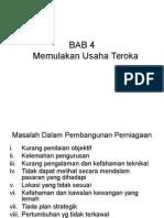 BAB4-Memulakan Usaha Teroka (Uum)