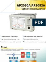 Optical Spectrum Analyzer AP2050A - APEX Technologies