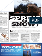 Sunday Living, Groundhog Day - The Patriot-News - Feb. 2, 2015