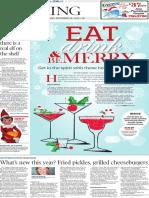 Tuesday Living, Holiday cocktails - The Patriot-News - Dec. 16, 2014