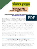 Pranayama - Tecnicas de Respiracion de Kundalini Yoga.