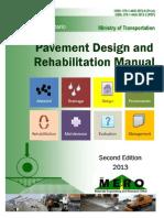 Pavement Design and Rehabilitation Manual