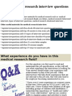Top 10 medical research interview questions and answers.pptx
