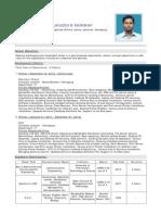 Mohammad Farrukuddin Monnaf CV