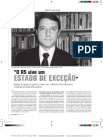 Entrevista Leandro Scalabrin na Caros Amigos