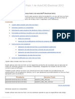 Léame Del Service Pack 1 de AutoCAD Electrical 2012