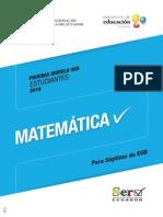 Prueba Modelo Matematica- 7 Out11