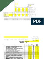 Borang HC Matematik Tahun 6 (UPSR) 2015