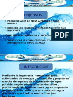 Produccion de Agua de Mesa