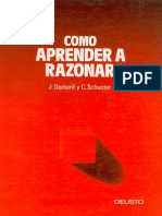 Cómo Aprender a Razonar - Jacques Dumont