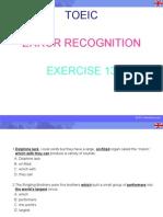 Error Recognition Ppt13
