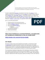 osi and tcp/ip model