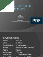 Presentasi Kasus - Tetanus